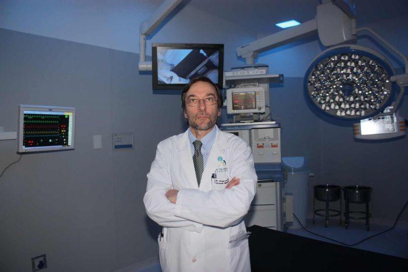 Dr. Jorge Lantos, Gerente Médico del Sanatorio Los Arcos, Swiss Medical Group