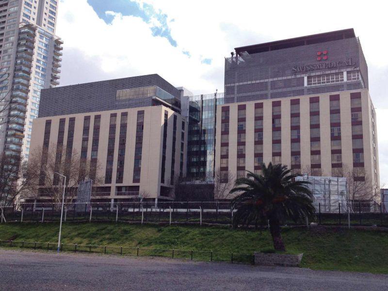 Sanatorio de los Arcos - Frente