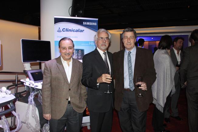 Dr. Jose Luis Volpacchio, Dr. Mario Palermo y Dr. Roberto Votta