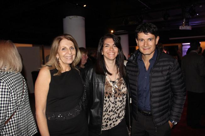 Maria Teresa Cetani de Clinicalar, Dra. María José Bassaury y Dr. Javier Lizarraga[