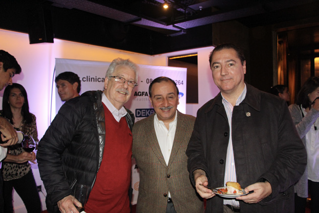 Dr. Armando Goldman, Dr. José Luis Volpachhio y Dr. Horacio Aiello (Presidente de SADIPT)