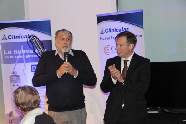 Elbio Scheinson y Julian Fucile de Clinicalar