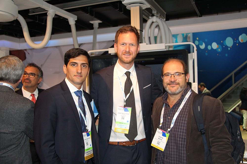 Luciano Nicolás Muratore de Philips, Sebastian Slijderink y Fabian Marin