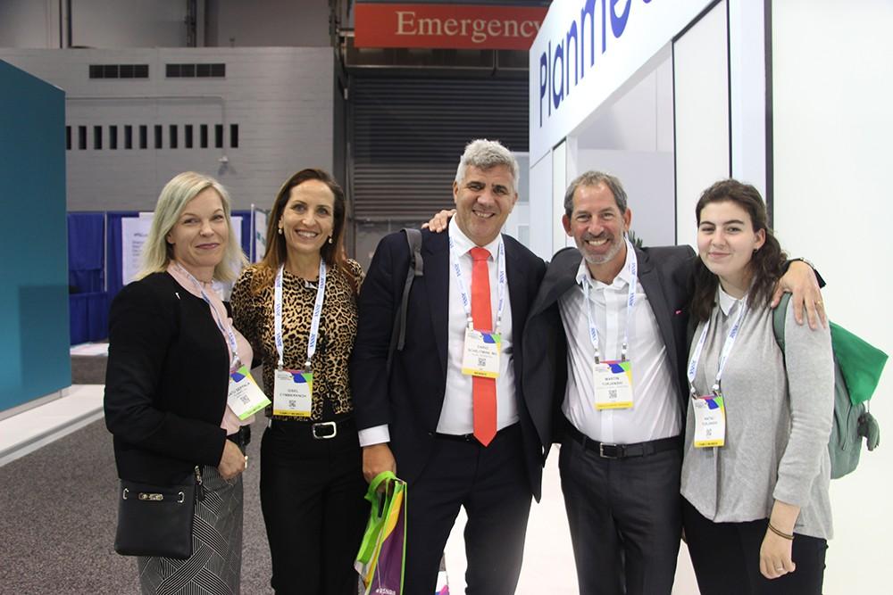 Satu Seppala, Dra. Gisel Cymberknoh, Dr. Dario Schejtman, Ing. Martín y Natali Turjanski