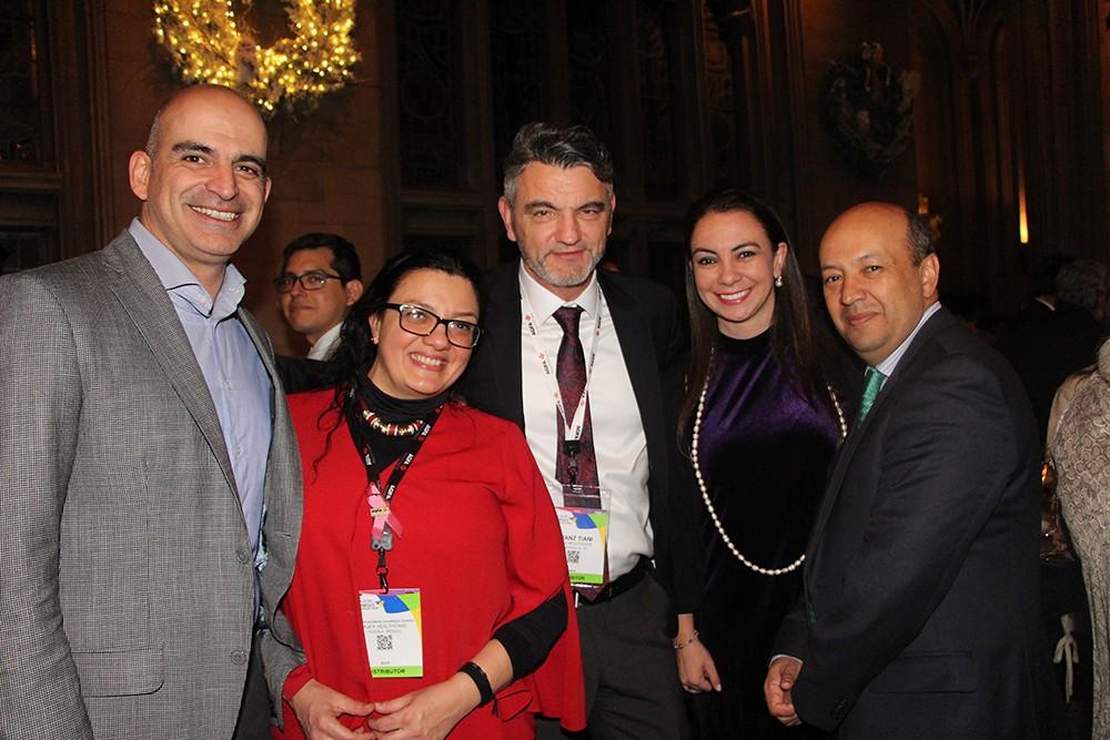 Alejandro Varettoni y Dr. Javier Romero en Evento de Agfa