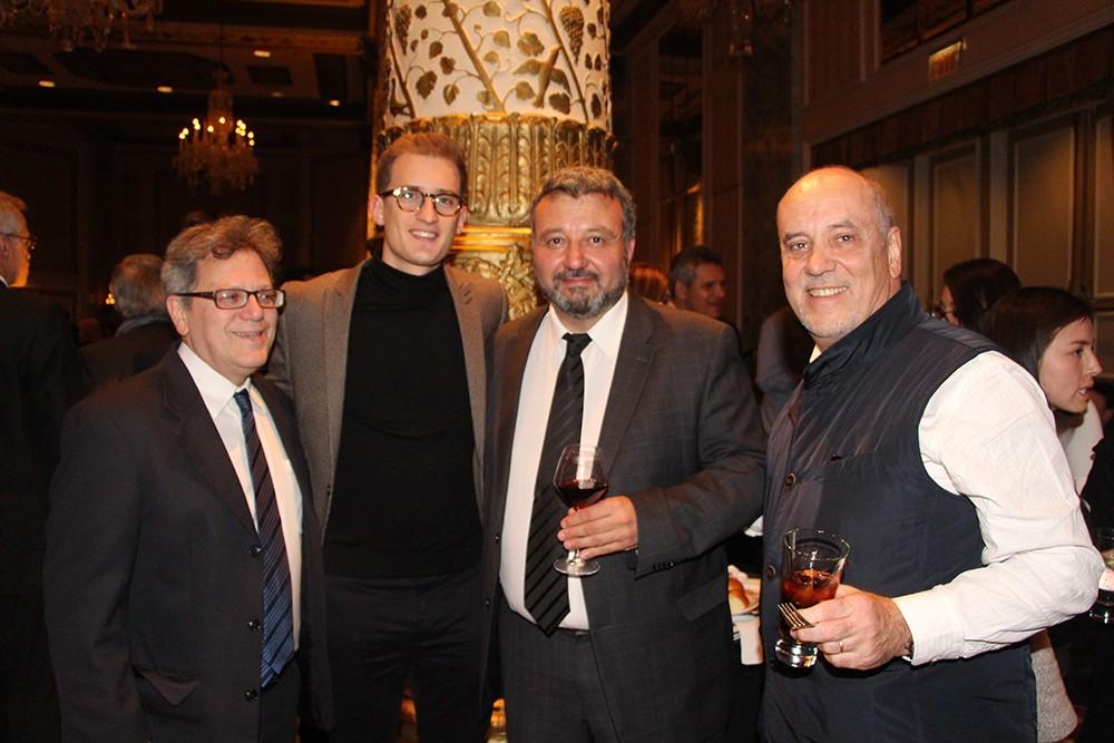 Gabriel Kohan, Belocopitt, Marcelo Luraschi y Jorge Falcon