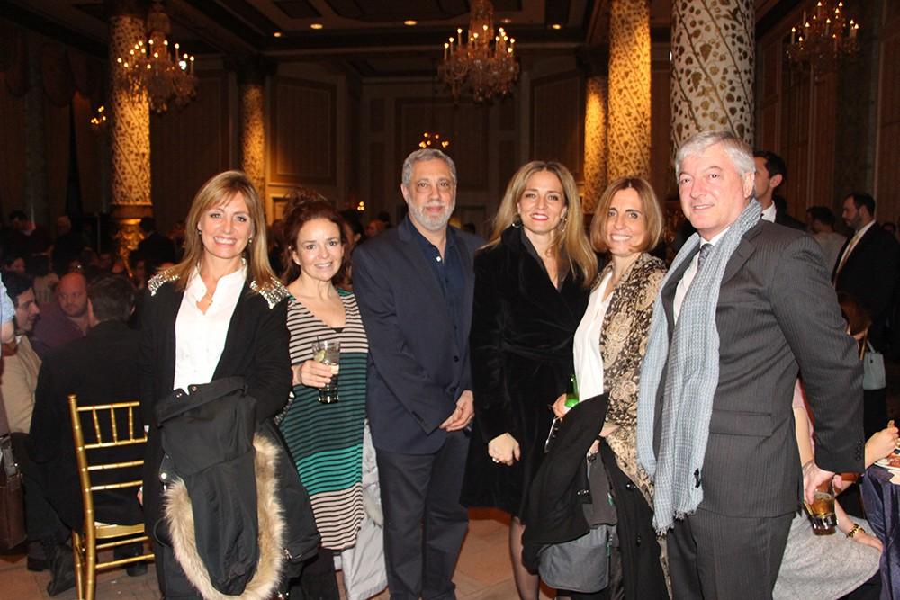 Daniel Mysler, Flavia Sarquis, Paola Pucci y Marcelo Kaufman