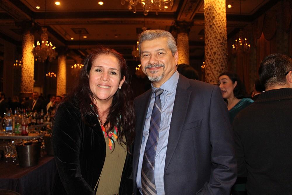 Nora Eugenia Rodríguez Pedraza y Héctor Murrieta González de la Sociedad Mexicana de Radiología