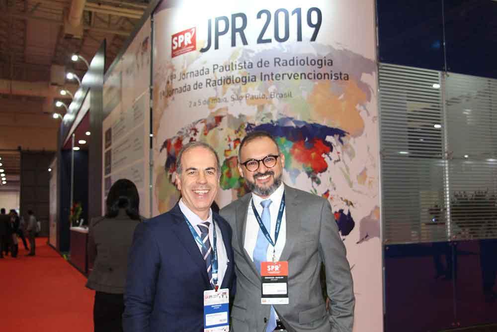 Dr. Henrique Carrete, presidente del CIR y Sergio Macedo de la SPR