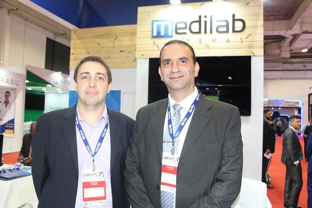 Elias Antonio y socio de Medilab Sistemas