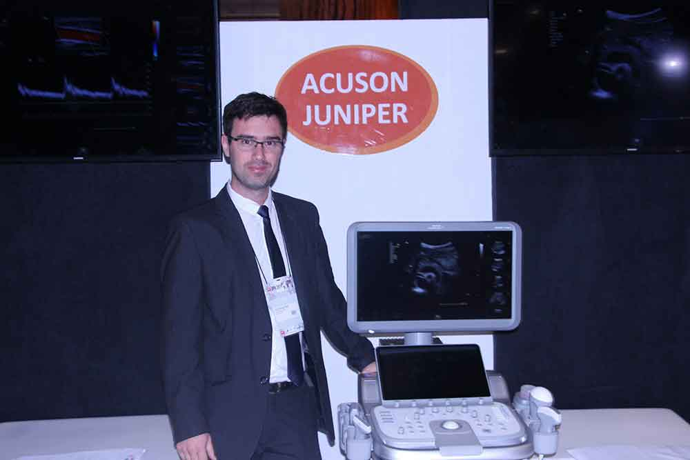 Gustavo Bertinat Tron de Digimed, distribuidor de Ecógrafos Siemens en Argentina