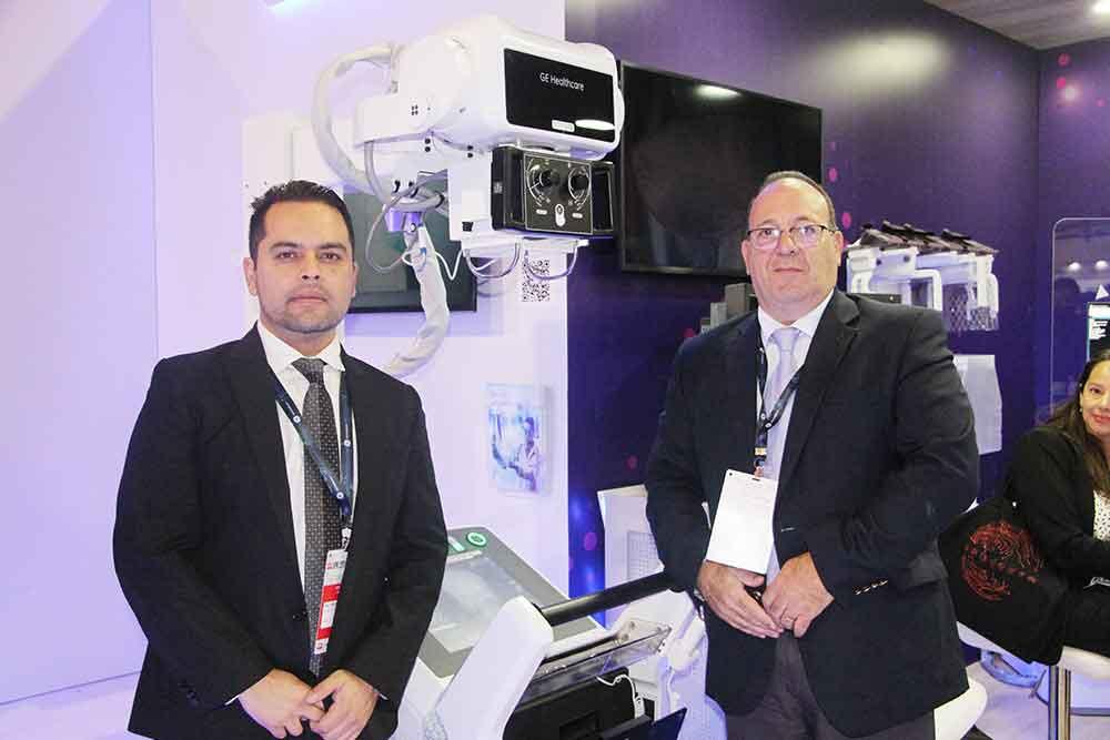 Gustavo Molina y Marcelo Gubert de GE Healthcare