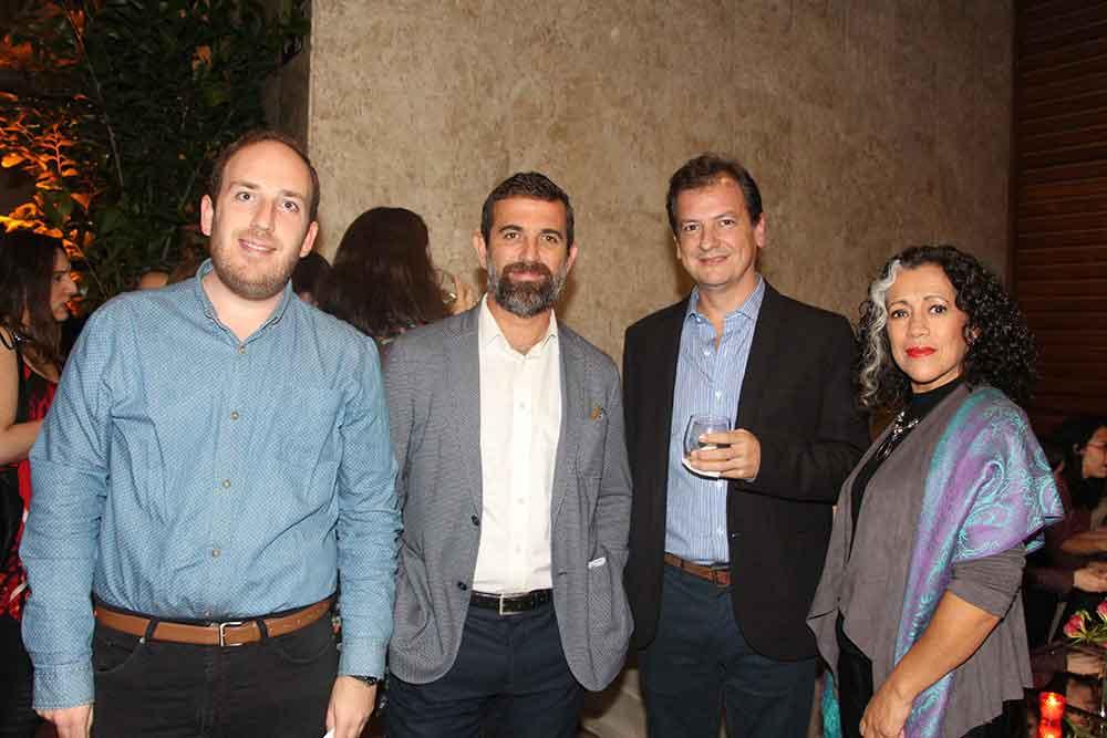 Juan Fiani de FAARDIT, Dr. Eduardo Eyheremendy, Dr. Jorge Docampo y Alejandra Capdevilla de la SAR