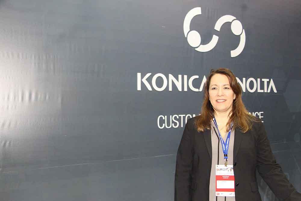 Lisette Carrara de Konica Minolta