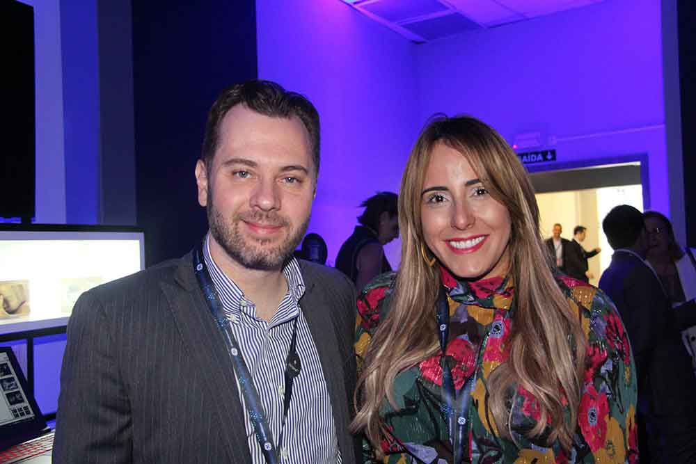 Nelson García y Arlene Ocasio de GE Ultrassom