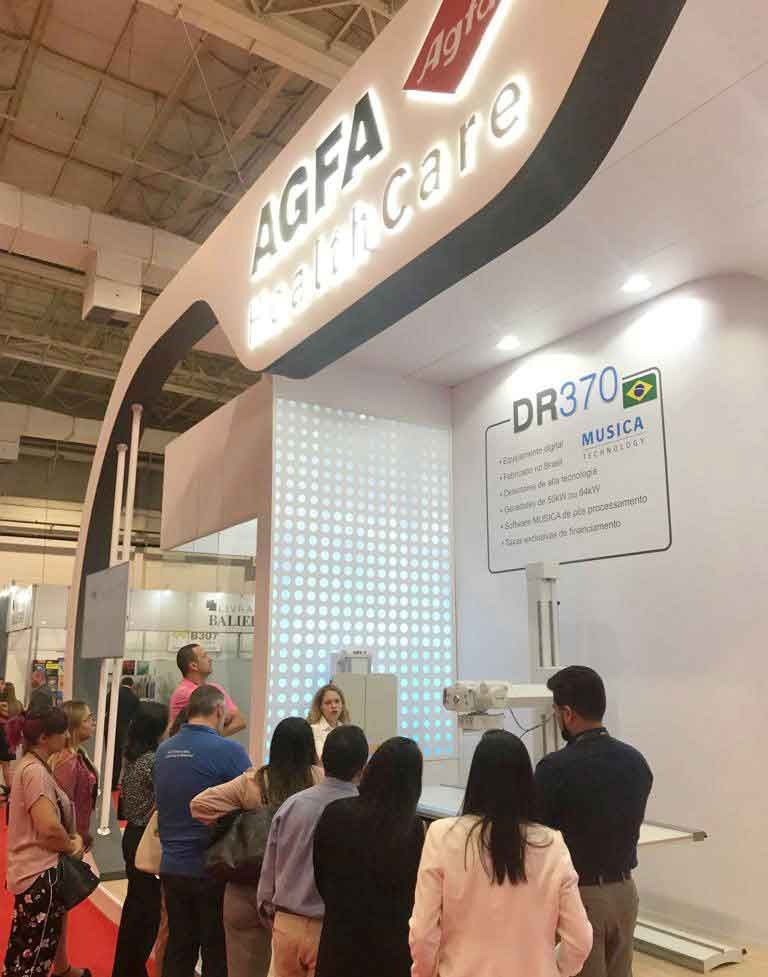 Presentación del DR 370 de Agfa