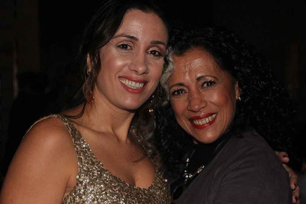 Priscilia Figueiredo y Alejandra Capdevilla