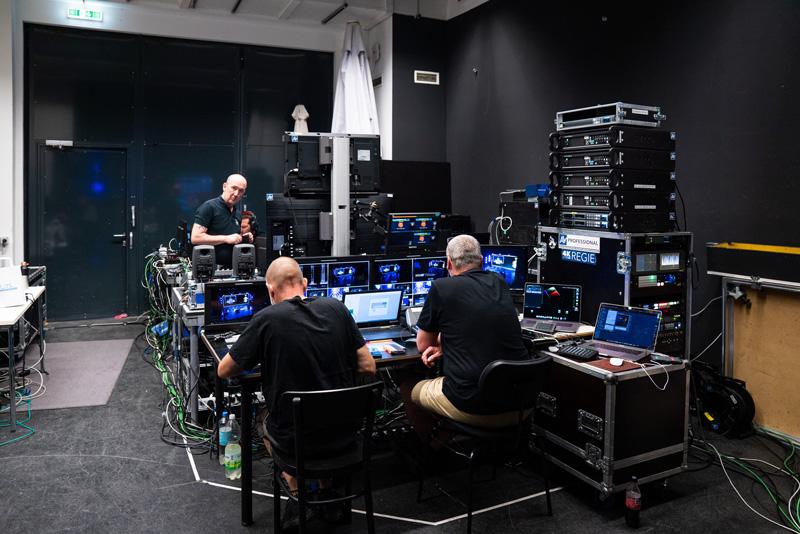 343 ECR Configuración técnica y equipo de soporte backstage en ECR 2021 Summer Edition